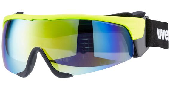 UVEX Cross Shield II Pro - Lunettes de sport - S jaune/noir